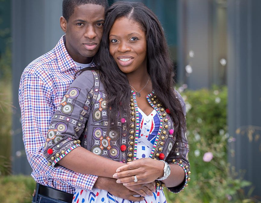 Farnborough Air Hangar Pre-wedding photography || Chimezie & Doris