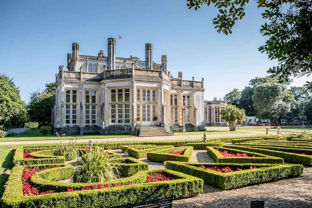 Highcliffe Castle wedding venue in Hmapshire