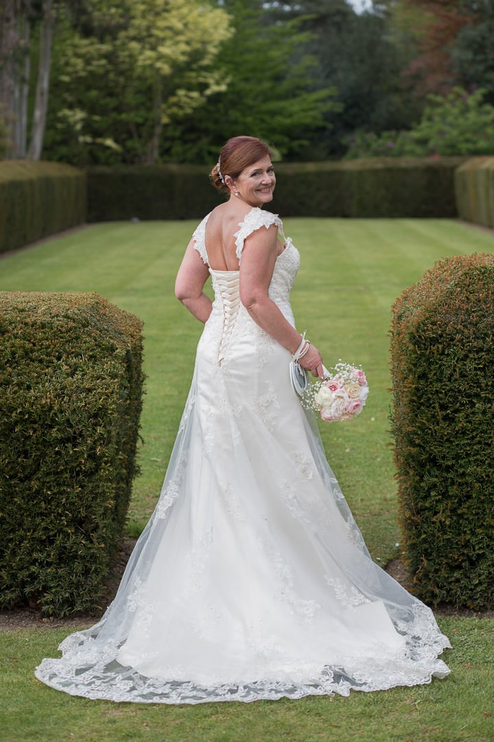 Bridal portrait at Barnett Hill Hotel