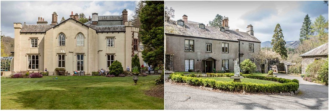 Exterior photos of Monk Coniston