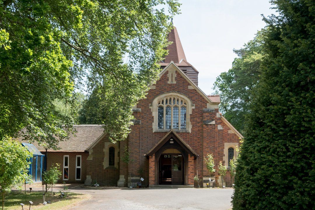 St Andrew's church Frimley Green