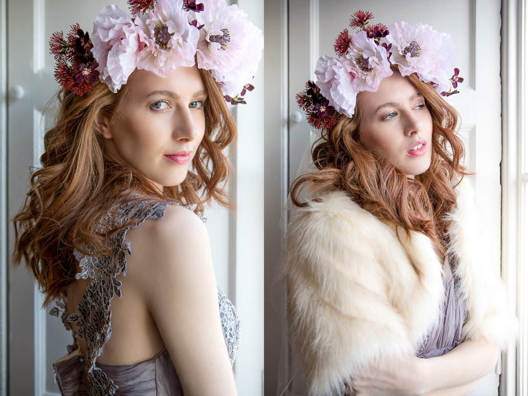 Farnham castle bridal shoot
