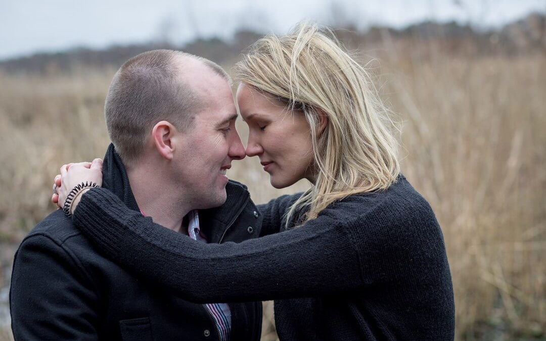 Fleet Pond engagement photography – David & Helen's pre wedding photo shoot