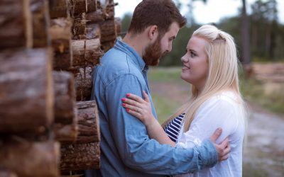 Swinley Forest engagement photography – André & Abi's pre wedding shoot