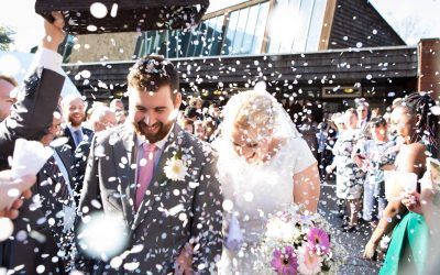 The Welcome Church, Woking – André & Abi's Surrey wedding